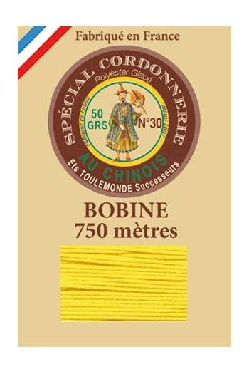 Waxed polyester Special Cordonnerie Col.350 - Yellow