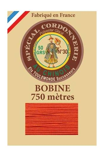 Waxed polyester Special Cordonnerie Col.380 - Orange