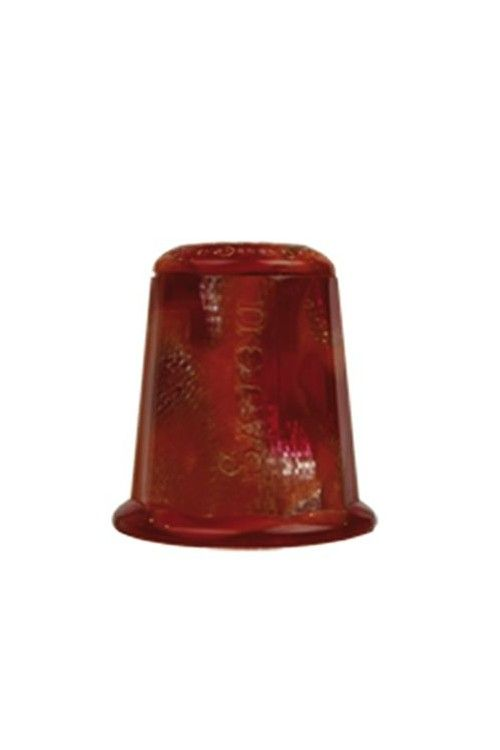 Sewing thimble Red Onyx Style
