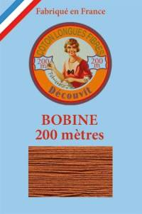 Decouvit cotton thread 200m wooden spool 6230 - Cherry wood