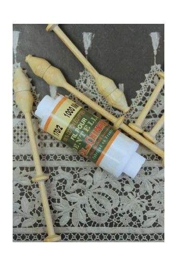 Fusette fil dentelle blanc optique 120/2 - Fil Au Chinois
