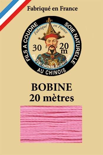 Perlé silk thread n°30 - 20m spool - Col. 518 - Pink