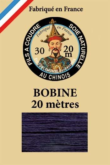 Perlé silk thread n°30 - 20m spool - Col. 246 - Navy