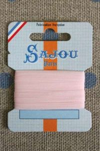 Embroidery ribbon card - 3mm width - Col.265 pink