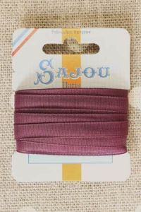 Embroidery ribbon card - 6mm width - Col.367 violet
