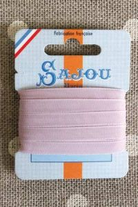 Embroidery ribbon card - 6mm width - Col.453 lilac