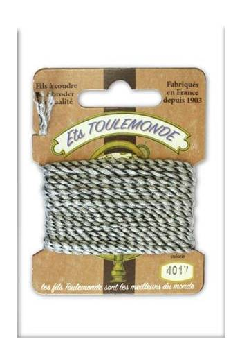 Novelty Rochefort thread 4016 yellow/brown