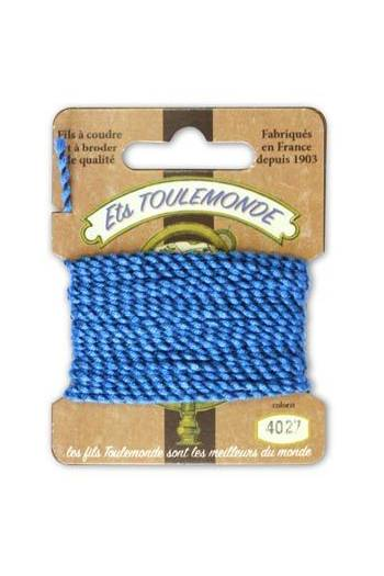 Novelty Rochefort thread 4026 turquoise/black