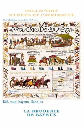 Cross stitch pattern chart: Bayeux embroidery