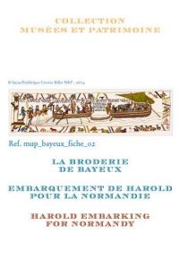 Cross stitch pattern chart: Harold embarking  for Normandy