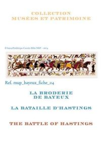 Cross stitch pattern chart: the battle of Hastings