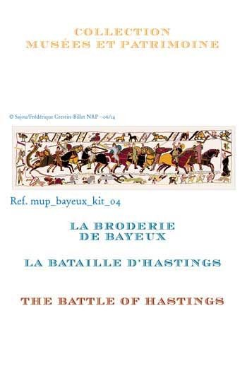 Cross stitch pattern kit: the battle of Hastings