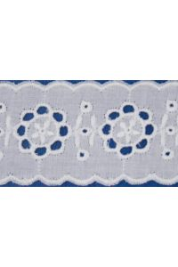 Broderie anglaise card model n°04