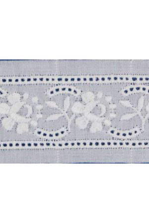 Broderie anglaise card model n°05