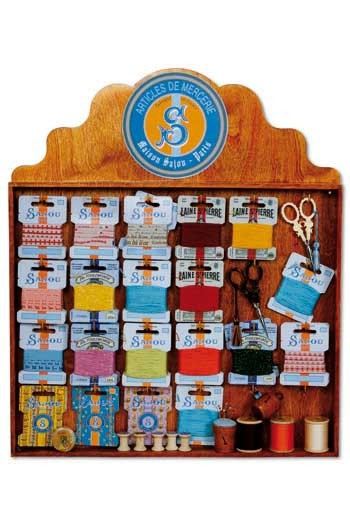Haberdashery display case Sajou model