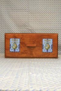 Sajou shop drawers - chest of one drawer - Tonkin labels