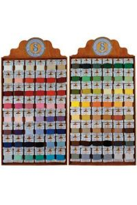 Haberdashery displays containing Retors du Nord complete collection