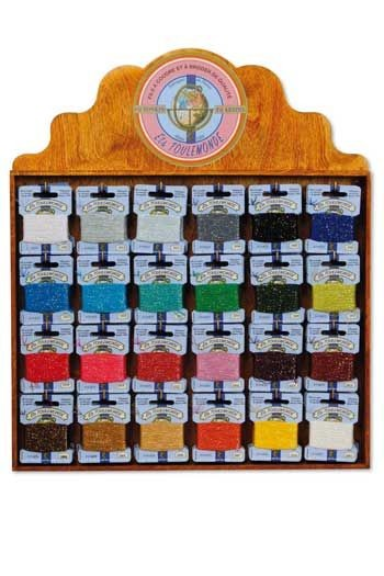 Haberdashery display 120 Tonkin thread cards