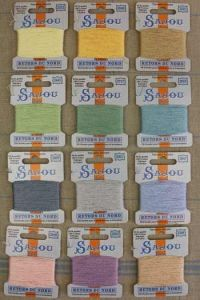 Discovery assortment Retors du Nord thread box 12 pastel colours