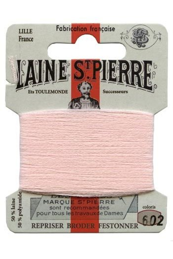 Laine Saint-Pierre 10 m card darning / embroidery 602 Baby Pink