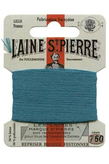 Laine Saint-Pierre 10 m card darning / embroidery 760 Duck