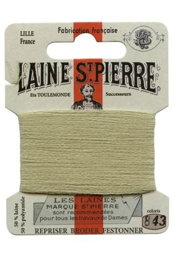 Laine Saint-Pierre 10 m card darning / embroidery 843 Lime tree