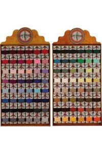Haberdashery displays containing Laine Saint-Pierre complete collection