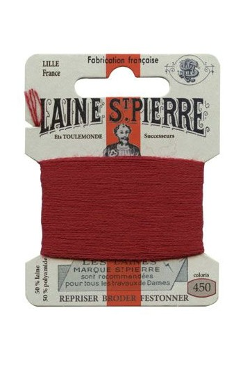Laine Saint-Pierre 10 m card darning / embroidery 450 Copper