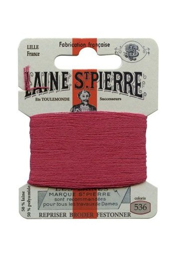 Laine Saint-Pierre 10 m card darning / embroidery 536 Redcurrent