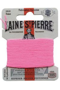 Laine Saint-Pierre 10 m card darning / embroidery 555 Oleander