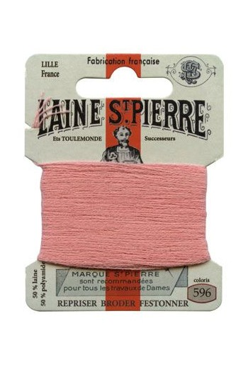 Laine Saint-Pierre 10 m card darning / embroidery 596 Dusky Pink