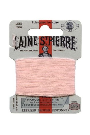 Laine Saint-Pierre 10 m card darning / embroidery 586 Pink