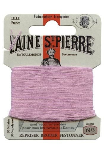 Laine Saint-Pierre 10 m card darning / embroidery 603 Cyclamen
