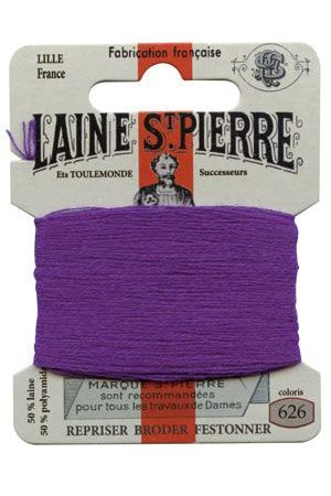 Laine Saint-Pierre 10 m card darning / embroidery 626 Sloe