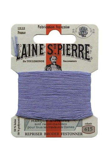 Laine Saint-Pierre 10 m card darning / embroidery 615 Lupin