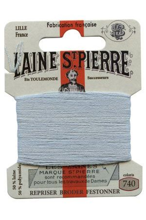 Laine Saint-Pierre 10 m card darning / embroidery 740 Azure