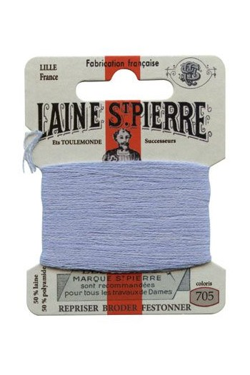 Laine Saint-Pierre 10 m card darning / embroidery 705 Gobelin Blue