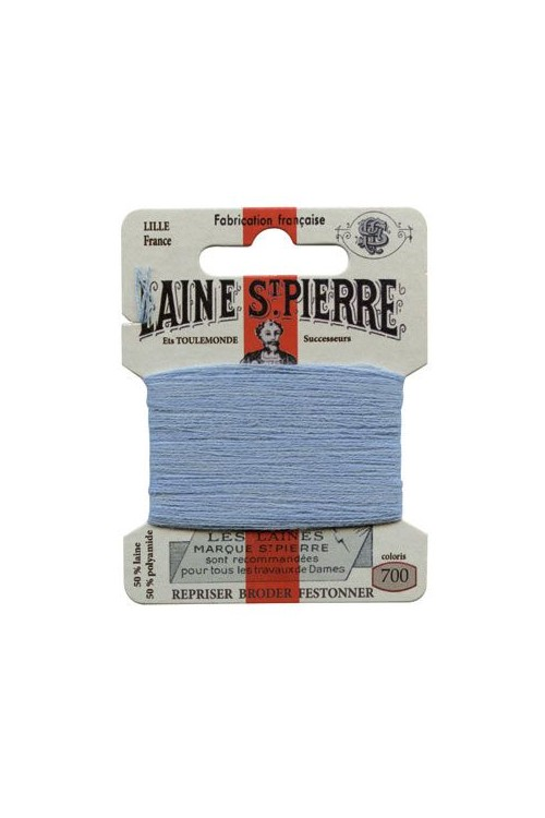 Laine Saint-Pierre 10 m card darning / embroidery 700 Nattier Blue