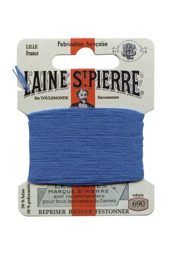 Laine Saint-Pierre 10 m card darning / embroidery 690 Lavender