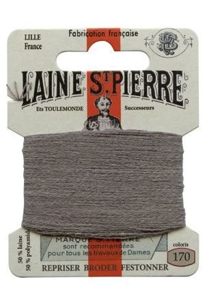 Laine Saint-Pierre 10 m card darning / embroidery 170 Ash
