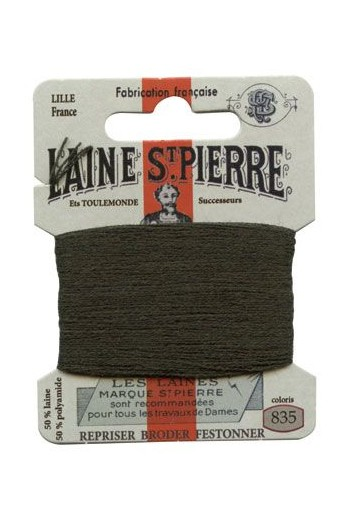 Laine Saint-Pierre 10 m card darning / embroidery 835 Bottle Green