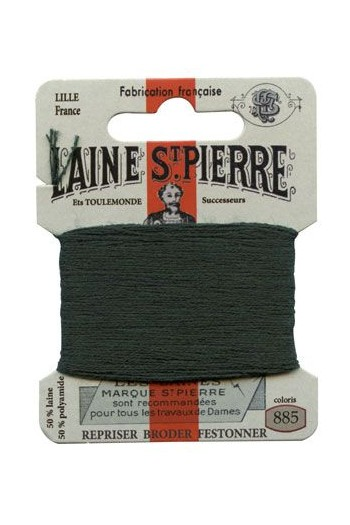 Laine Saint-Pierre 10 m card darning / embroidery 885 Ivy Green