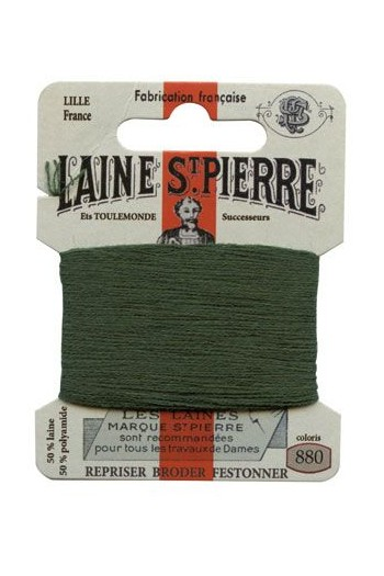 Laine Saint-Pierre 10 m card darning / embroidery 880 Cactus