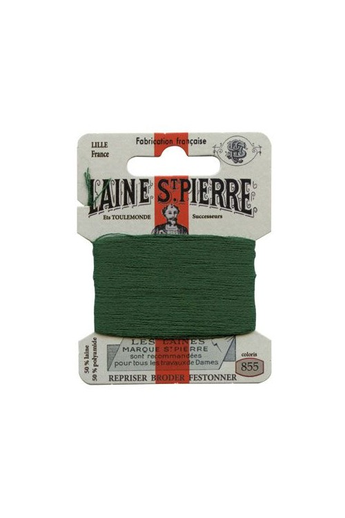 Laine Saint-Pierre 10 m card darning / embroidery 855 Leaf Green