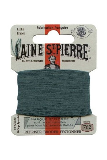 Laine Saint-Pierre 10 m card darning / embroidery 762 Petrol