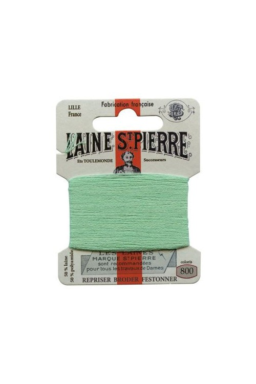 Laine Saint-Pierre 10 m card darning / embroidery 800 Emerald