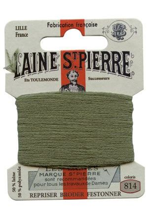 Laine Saint-Pierre 10 m card darning / embroidery 814 Sage Green