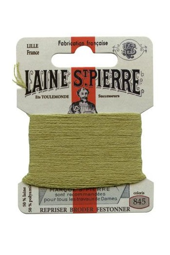 Laine Saint-Pierre 10 m card darning / embroidery 845 Fern