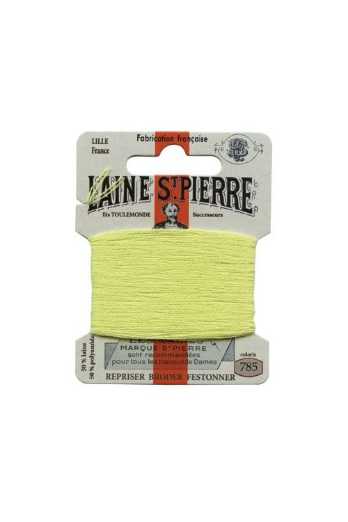 Laine Saint-Pierre 10 m card darning / embroidery 785 Lime