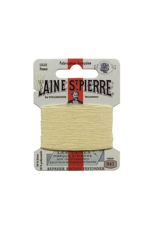 Laine Saint-Pierre 10 m card darning / embroidery 841 Lichon